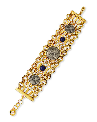 5-Chain Coin Bracelet