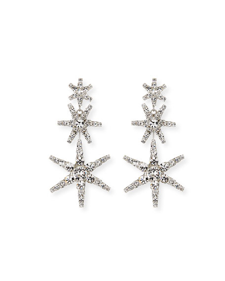 Jennifer Behr Aurelia Crystal Star Earrings