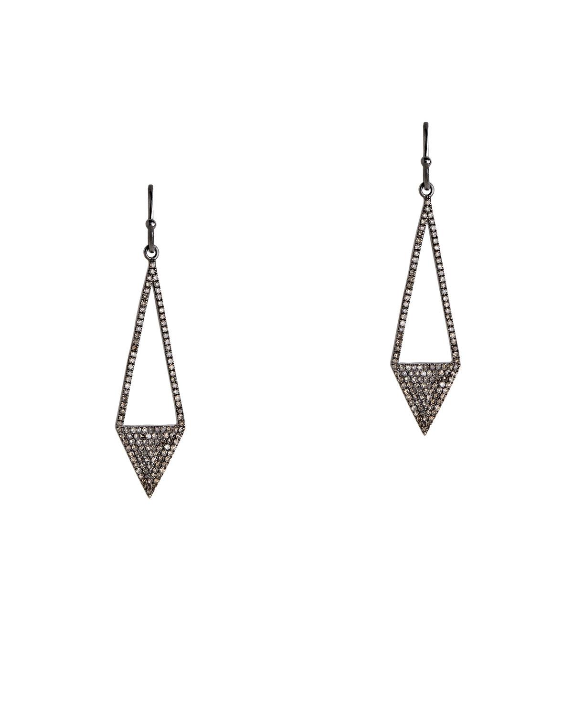 Diamond Arrow Earrings