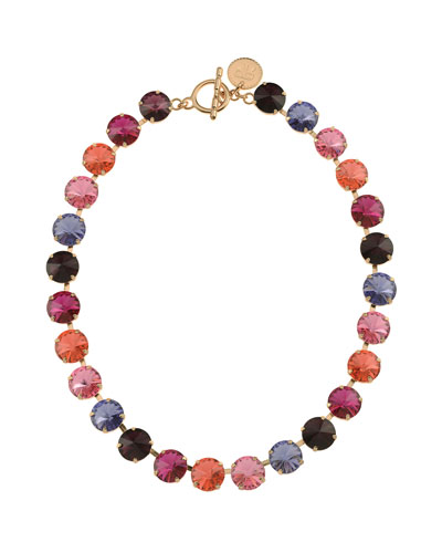 Roxanne Rivoli Crystal Necklace