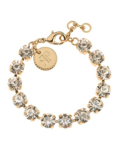 Maxine Crystal Bracelet, Clear