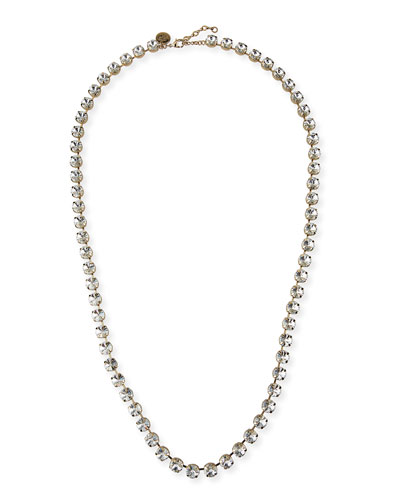 Ramona Long Crystal Necklace, 38