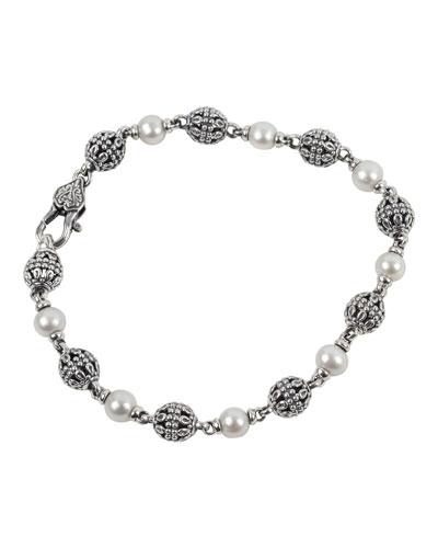 Kleos 1-Strand Pearl Bracelet, Size M