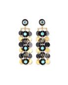 Ashley Pittman Pazia Disc-Dangle Earrings