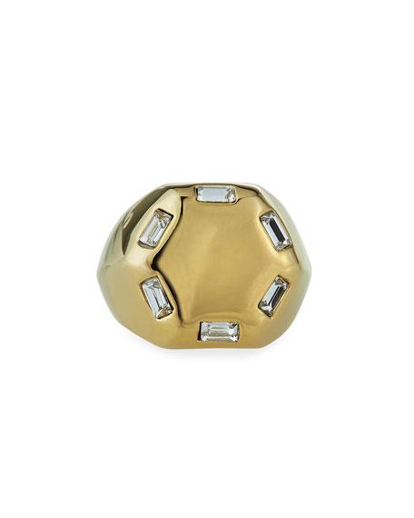 Lulu Frost Meta Hexagonal Ring