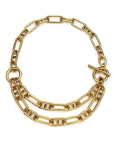Short Double-Chain Necklace