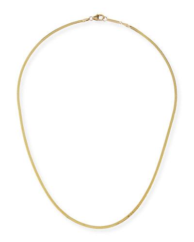 14k Liquid Gold Thin Chain Choker