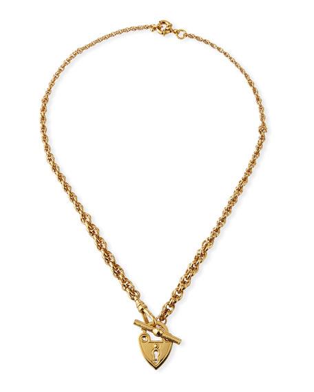 Gas Bijoux Locket Heart Necklace