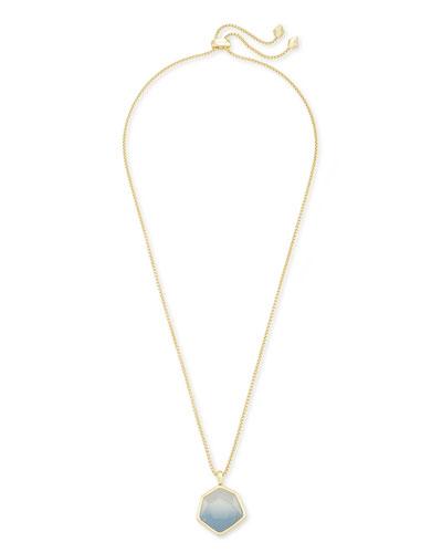 Vanessa Large Long Pendant Necklace