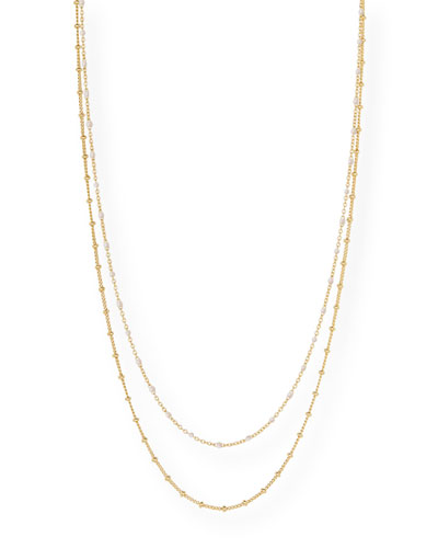 Capri-Layered Chain Necklace