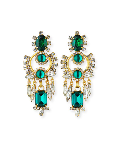 Elizabeth Cole Vivian Statement Earrings