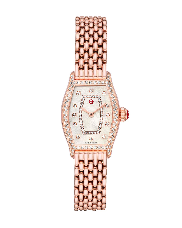 Coquette Pink Gold Diamond Watch