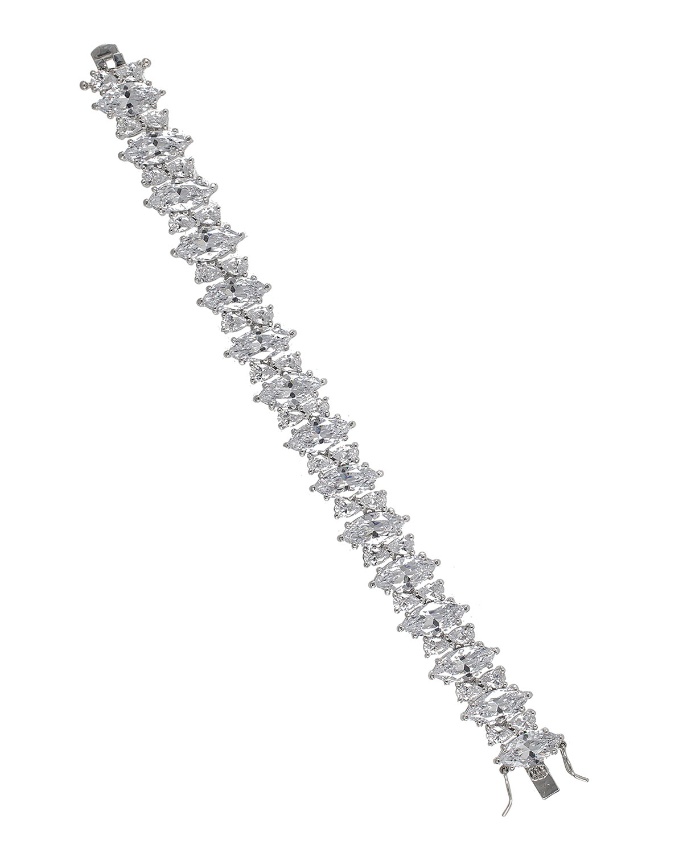 Marquise Cubic Zirconia Tennis Bracelet