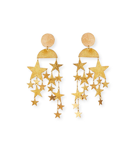 We Dream in Colour Cassiopeia Earrings, Gold