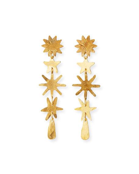 We Dream in Colour Gaia Linear Drop Earrings