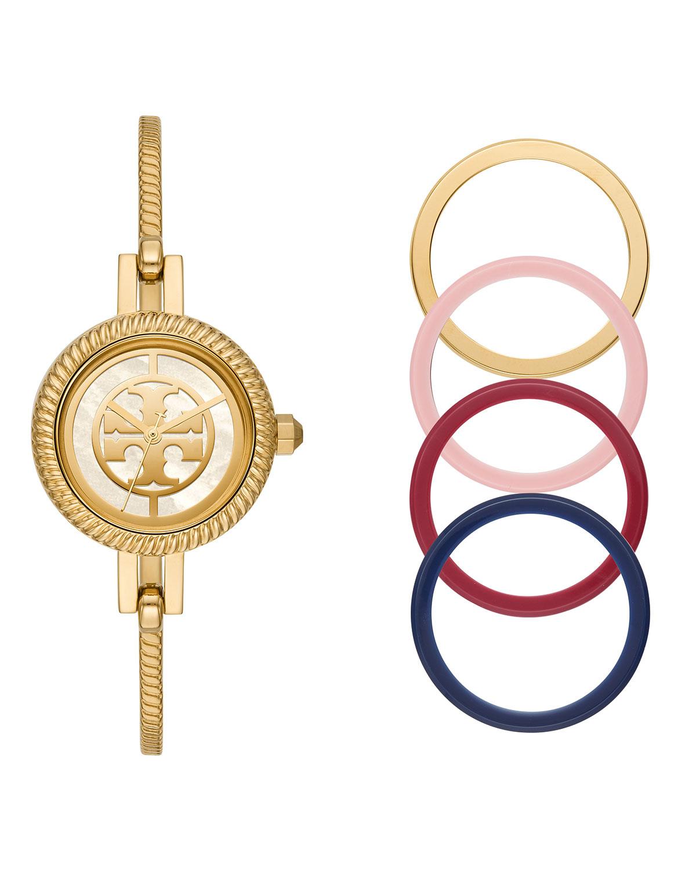 27mm Reva Bangle Watch Gift Set w/ Top Rings
