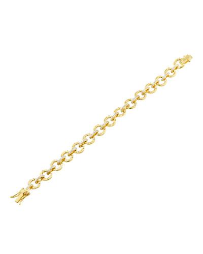 Radiance Link Line Bracelet, Gold