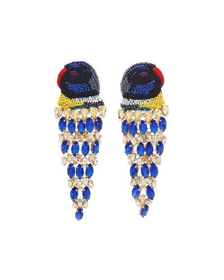 Mignonne Gavigan Parrot Lux Earrings