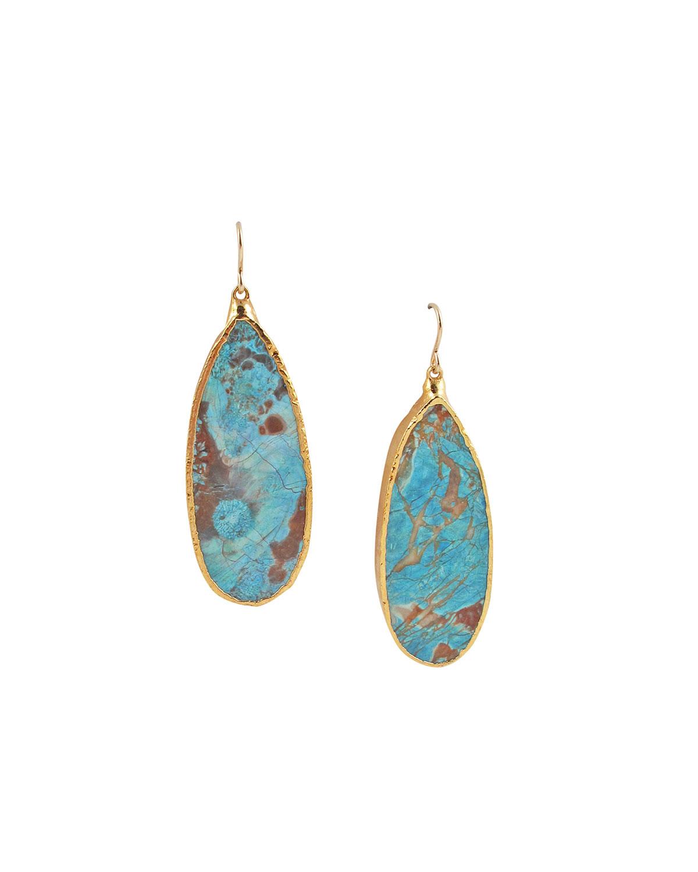 Ocean Jasper Dangle Earrings