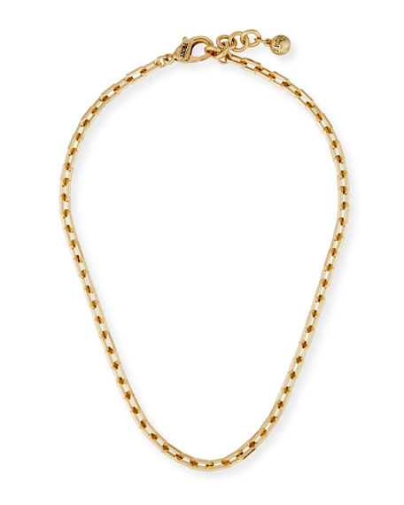 Lulu Frost Edge Chain Short Necklace