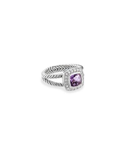 Petite Albion Ring with Diamonds