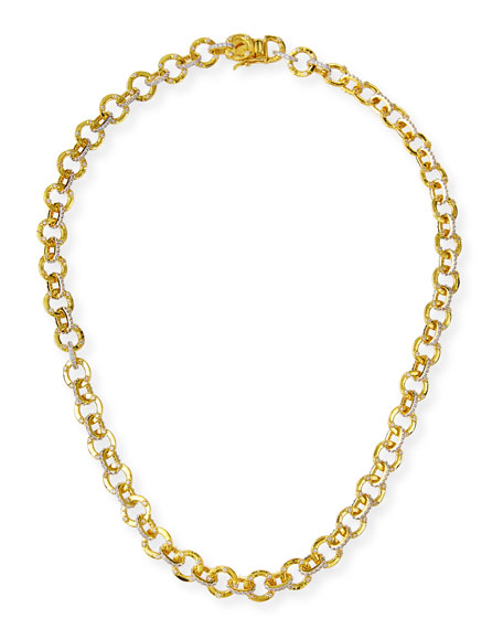 Freida Rothman Chain-Link Necklace