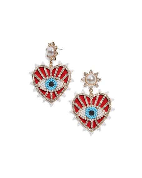 BaubleBar Ojo Drop Earrings