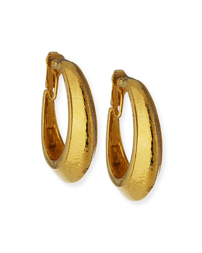 Hoop Clip Earrings