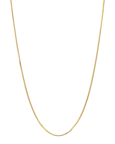 14k Snake Chain Necklace