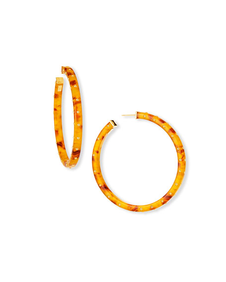 Gas Bijoux Helious Hoop Earrings