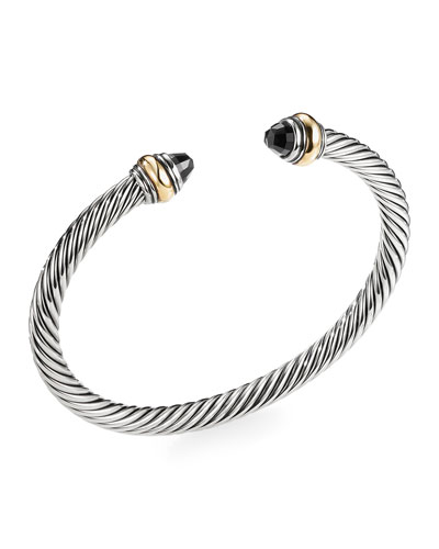Cable Classics Bracelet with Black Onyx