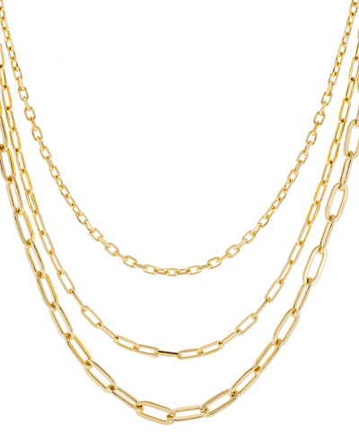 3-in-1 Oval Chain Necklace