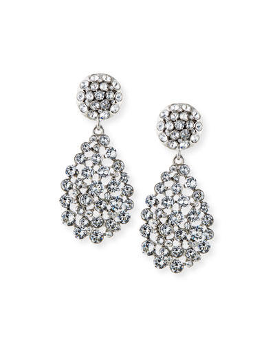 Classic Teardrop Clip Earrings