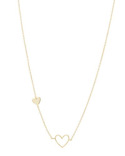 Heart Asymmetrical Necklace