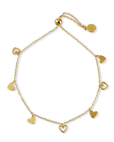 Multi-Heart Chain Bracelet