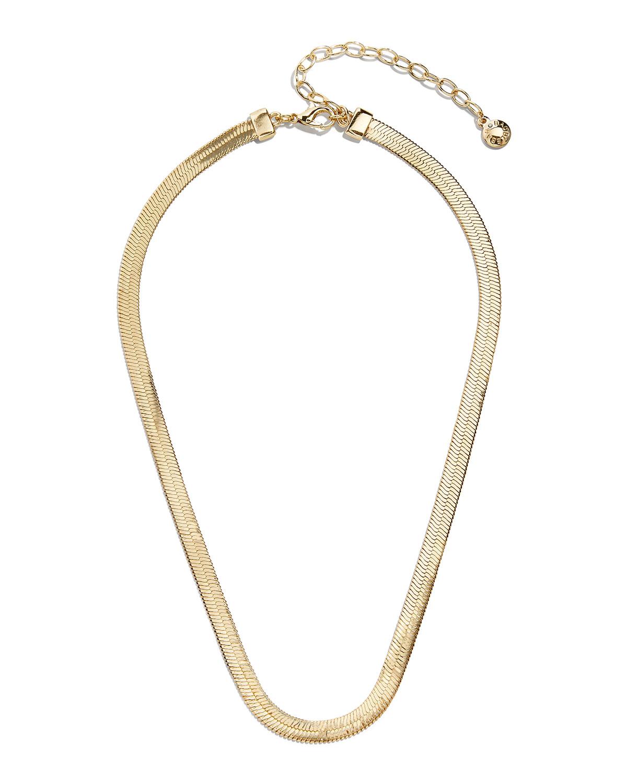 Gia Herringbone Necklace