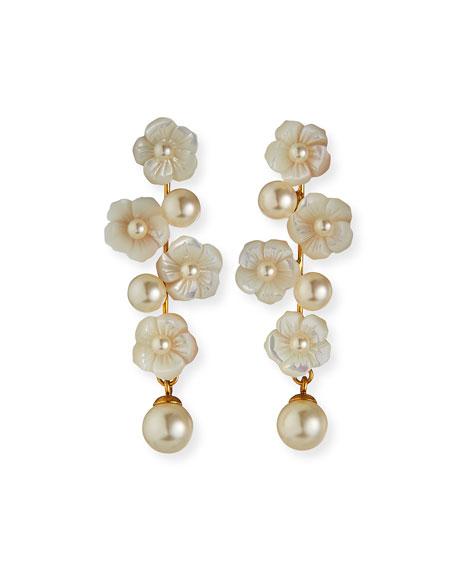 Jennifer Behr Calissa Pearly Earrings