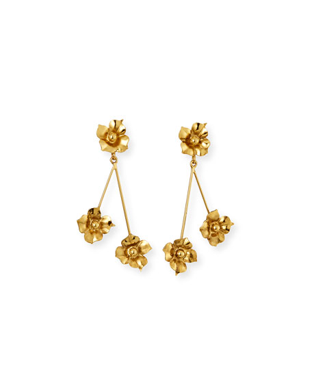 Jennifer Behr Carmen Floral-Stick Earrings
