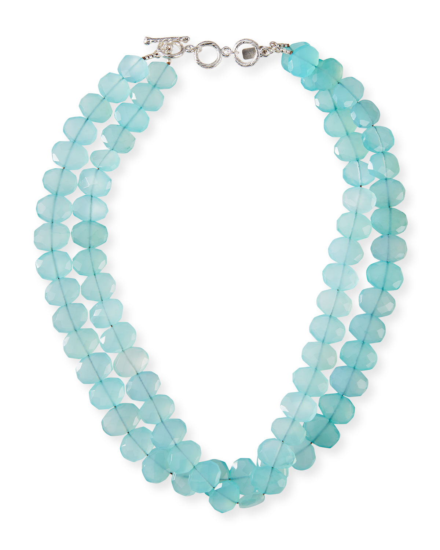 2-Strand Chalcedony Necklace