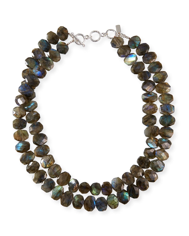 2-Strand Labradorite Necklace