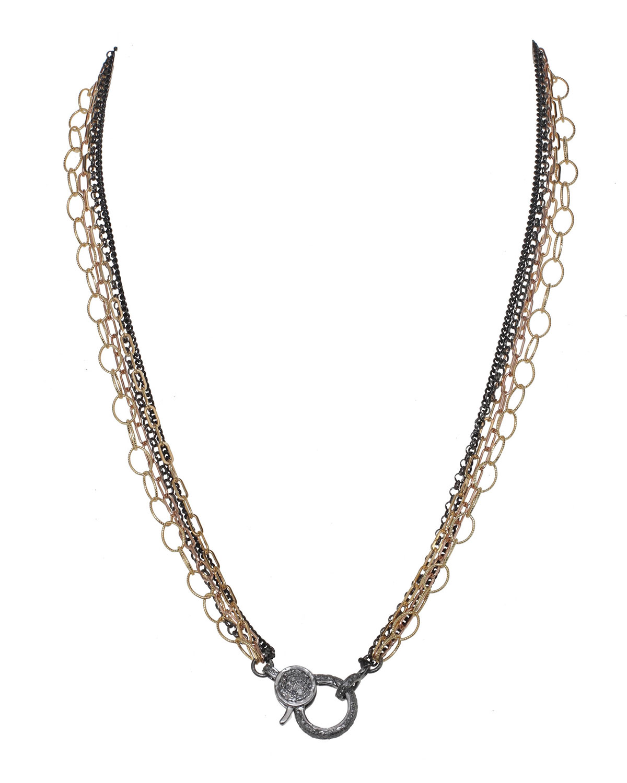 5-Chain Diamond Necklace