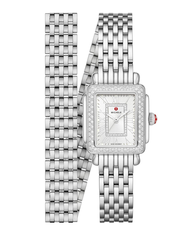 Deco Madison Mini Stainless Diamond Watch