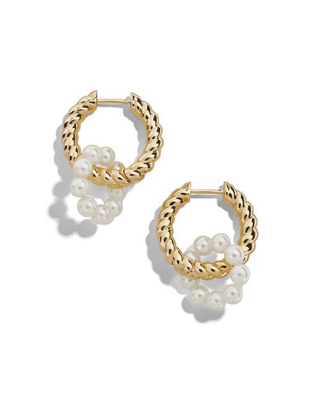 BaubleBar Coco Huggie Hoop Earrings