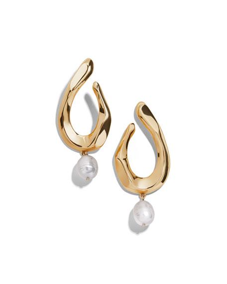 BaubleBar Petra Pearl-Drop Earrings