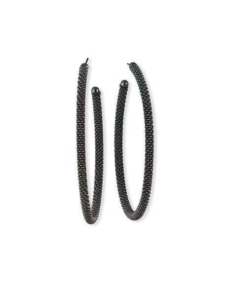 Brunello Cucinelli Monili Hoop Earrings