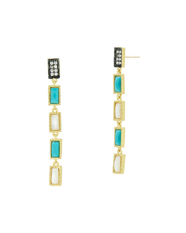 Celestial Linear Infinity Earrings