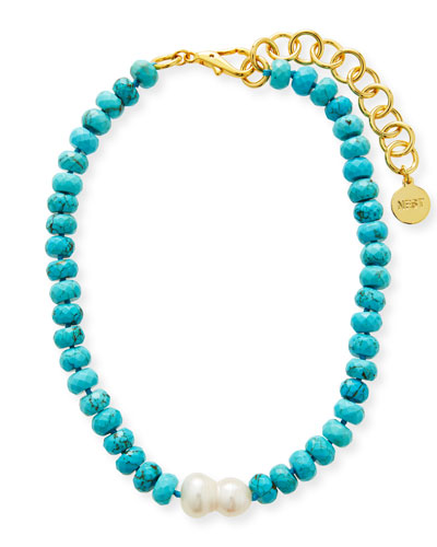 Stainless steel OR creoles with golden round sequin and turquoise faceted beads  Gold stainless steel hoop earrings with beads charm