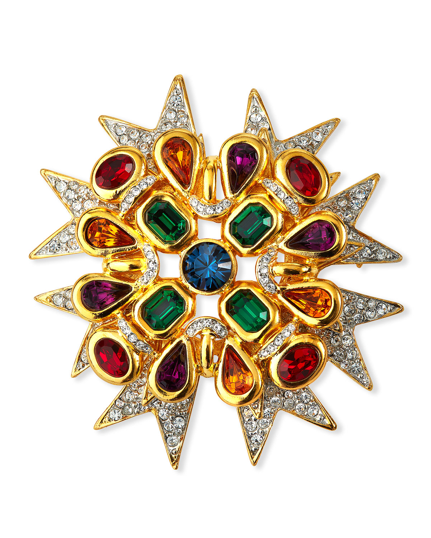 Maltese Cross Pin