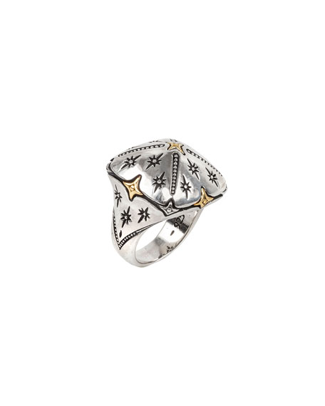 Konstantino Astria Shooting Star Ring, Size 7