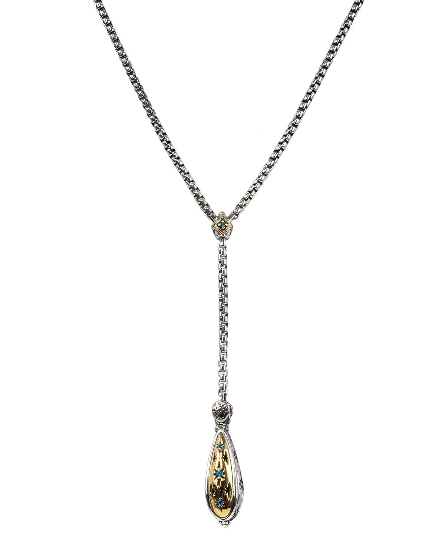 Astria 2-Tone Y Necklace